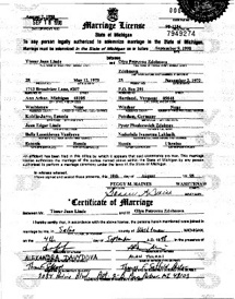 A License Michigan In Marriage Obtaining